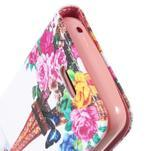 Peněženkové pouzdro na mobil Huawei Y3 a Y360 - Eiffelova věž - 6/6