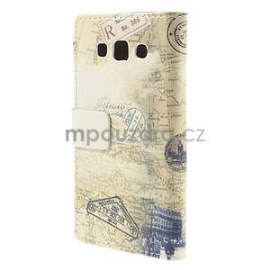 Peněženkové pouzdro na Samsung Galaxy A3 - Šikmá věž - 6