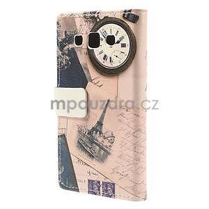 Peněženkové pouzdro na Samsung Galaxy A3 - Eiffelova věž - 6