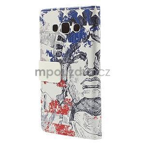 Peněženkové pouzdro na Samsung Galaxy A3 - Socha Svobody - 6