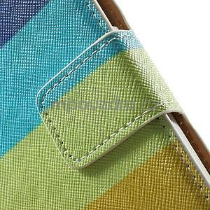 Peněženkové zapínací pouzdro na Samsung Galaxy A5 - barvy - 6