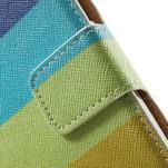 Peněženkové zapínací pouzdro na Samsung Galaxy A5 - barvy - 6/7