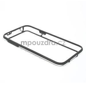 Černý gelový kryt s plastovými lemy na Samsung Galaxy S5 mini - 6