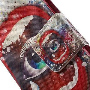 Zapínací peněženkové pouzdro na Samsung Galaxy S5 mini - oko - 6