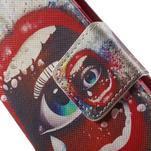 Zapínací peněženkové pouzdro na Samsung Galaxy S5 mini - oko - 6/7