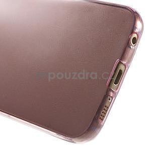 Ultra tenký gelový obal na Samsung Galaxy S6 Edge - rose - 6