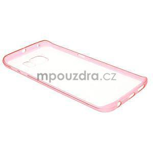 Rose hybridní gelový obal na Samsung Galaxy S6 Edge - 6