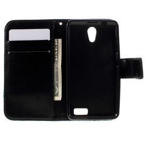 Styles peněženkové pouzdro na mobil Lenovo A319 - modrý motýl - 6