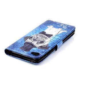 Style peněženkové pouzdro na mobil Lenovo S90 - mops - 6
