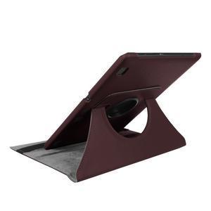 Pouzdro s otočnou funkcí na tablet Lenovo Tab 2 A10-70 - tmavěhnědé - 6