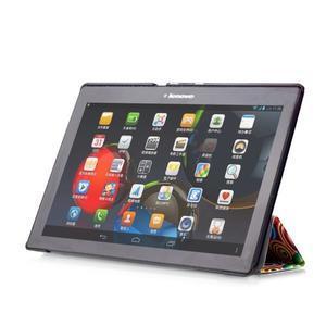 Polohovatelné pouzdro na tablet Lenovo Tab 2 A10-70 - barevné kruhy - 6