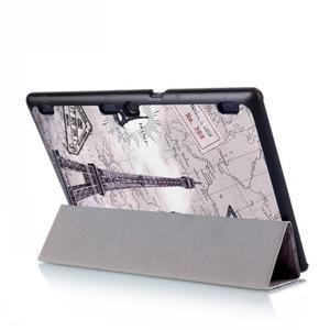 Polohovatelné pouzdro na tablet Lenovo Tab 2 A10-70 - Eiffelova věž - 6