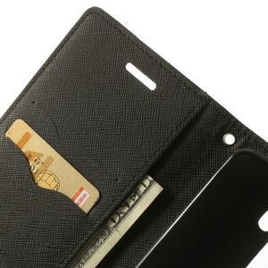 Goos peněženkové pouzdro na LG G3 - černé - 6