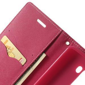 Goos peněženkové pouzdro na LG G3 - růžové - 6