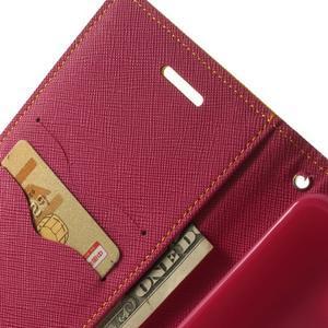 Goos peněženkové pouzdro na LG G3 - žluté - 6