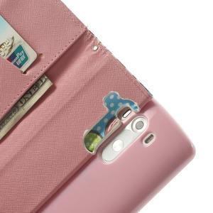 Ultra motive peněženkové pouzdro na LG G3 - malované kětiny - 6