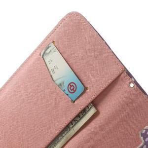 Ultra motive peněženkové pouzdro na LG G3 - srdíčka - 6