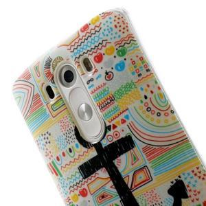 Gelový kryt na mobil LG G3 - kotva - 6
