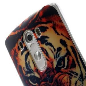 Gelový kryt na mobil LG G3 - tygr - 6