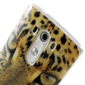 Gelový kryt na mobil LG G3 - leopard - 6