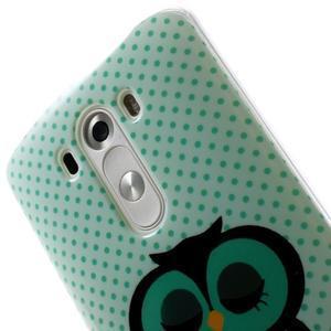 Gelový kryt na mobil LG G3 - sovička - 6