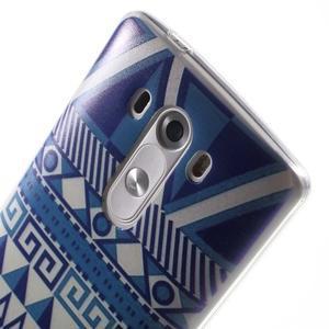 Silks gelový obal na mobil LG G3 - geo tvary - 6