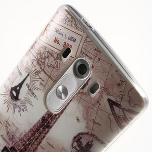Silks gelový obal na mobil LG G3 - Eliffelova věž - 6