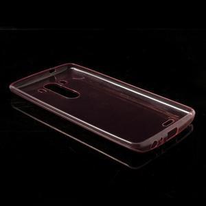 Ultratenký slim obal na mobil LG G3 - červený - 6