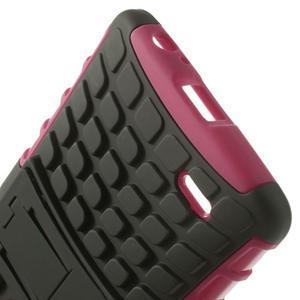 Outdoor odolný obal na mobil LG G3 - rose - 6