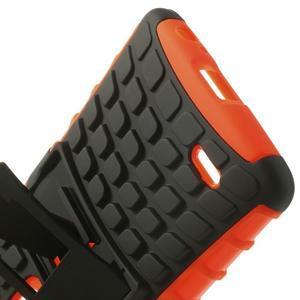 Outdoor odolný obal na mobil LG G3 - oranžový - 6