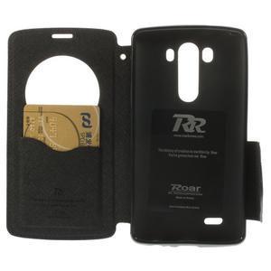 Diary pouzdro s okýnkem na mobil LG G3 - černé - 6