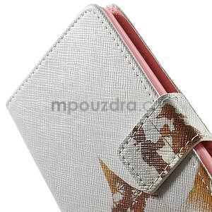 Zapínací peněženkové pouzdro pro LG G3 s - láska - 6