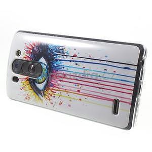 Gelový obal na LG G3 s - oko barev - 6