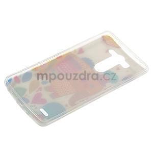 Ultra slim 0.6 mm gelový obal LG G3 s - sloník - 6