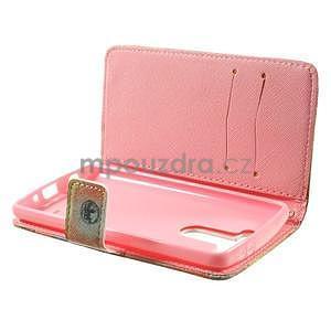 Zapínací peněženkové pouzdro pro LG G3 s - Big Ben - 6