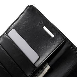 Luxury PU kožené pouzdro na mobil LG G4 - černé - 6