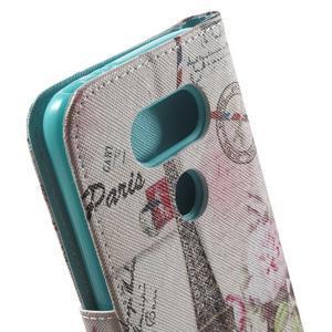 Wall peněženkové pouzdro na LG G5 - Eifellova věž - 6