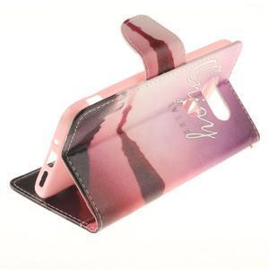 Obrázkové koženkové pouzdro na LG G5 - enjoy - 6