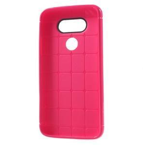 Rubby gelový kryt na LG G5 - rose - 6