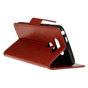 Lees peněženkové pouzdro na LG G5 - hnědé - 6