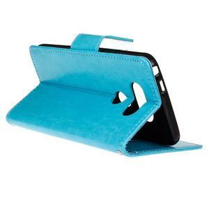 Lees peněženkové pouzdro na LG G5 - modré - 6