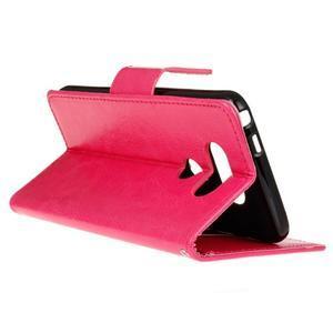 Lees peněženkové pouzdro na LG G5 - rose - 6