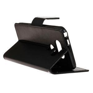 Lees peněženkové pouzdro na LG G5 - černé - 6