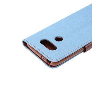 Jeans peněženkové pouzdro na LG G5 - světlemodré - 6