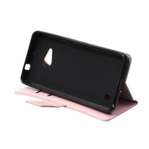 GX koženkové pouzdro na mobil Microsoft Lumia 550 - růžové - 6