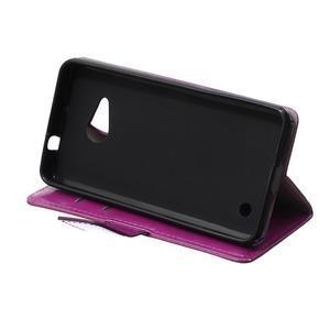 GX koženkové pouzdro na mobil Microsoft Lumia 550 - fialové - 6