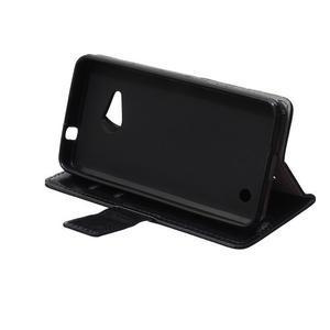 GX koženkové pouzdro na mobil Microsoft Lumia 550 - černé - 6