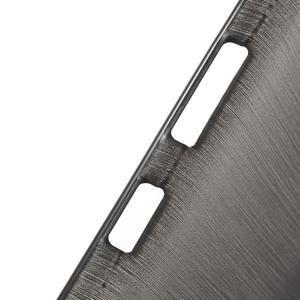 Brush hladký gelový obal na Microsoft Lumia 950 - černý - 6