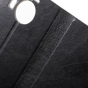 Horse peněženkové pouzdro na Microsoft Lumia 950 XL - černé - 6
