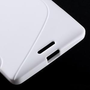 S-line gelový obal na mobil Microsoft Lumia 950 XL - bílý - 6